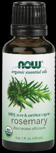 Organic Rosemary Oil   (1 oz) NOW Foods